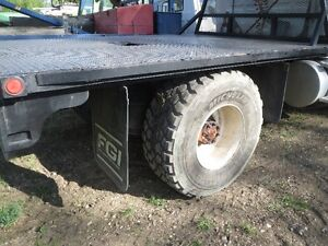 01 STERLING L8500 S/A SUPER SINGLES FRONT AND REAR