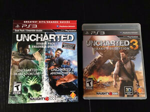 PS3-PLAYSTATION GAMES--UNCHARTERED
