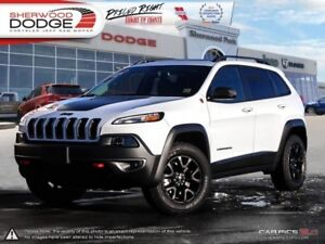 2017 Jeep Cherokee Trailhawk  LEATHER | REMOTE START | POWER LIF