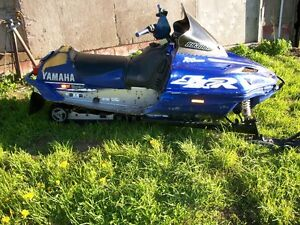 2001 yamaha sxr 700 part out sled