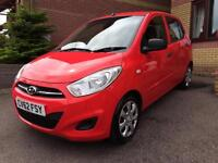 Hyundai i10 1.2 ( 85bhp ) Classic, 2012/62 **FINANCE AVAILABLE FROM £25 A WEEK**