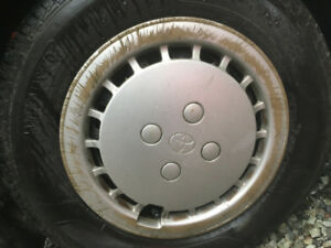 Wanted: Rim Covers for Toyota Tercel - 13 inch rim