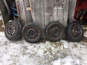 winter tires on rims 18565R16 honda civic tires
