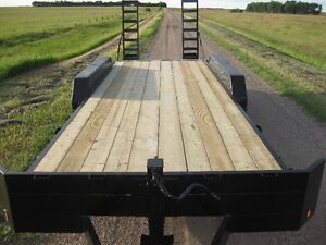 ***REDUCED***  22ft Triaxle trailer