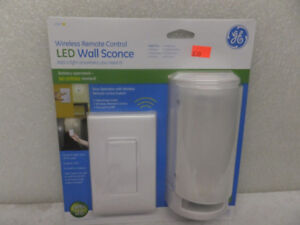 WIRELESS REMOTE CONTROL   LED WALL SCONCE