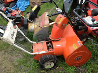 Ariens 824 snowblower chassiss only, needs engine