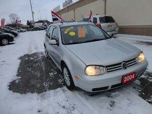 2004 Volkswagen Golf GLS Sedan E-TESTED & CERT
