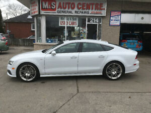 AUDI A7  S-LINE FULLY LOADED ONE OF A KIND!! ONLY 43,000KM