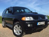 MITSUBISHI SHOGUN SPORT 2.5 diesel MANUAL WITH TOW BAR 4x4