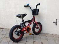 Vélo 12 po rouge