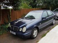 Mercedes E200 Classic, 80000 miles, last owner since 202