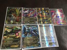 7 Rare Pokémon cards excellent quality
