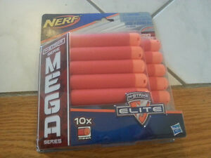 Nerf n-strike mega series darts set of 10