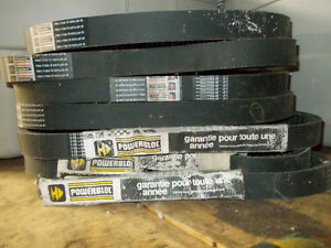 7 New Old Stock Powerbloc PBX+17350 Snowmobile Drive Belts