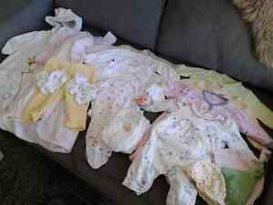 0-3month baby girl bundle