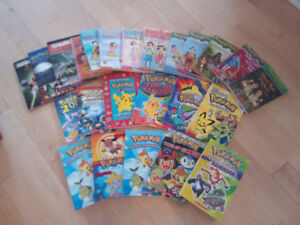 kids books, Pokemon, Beverly Cleary, Bionicle, Magic Tree House