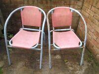 Giving away garden chairs