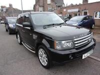 LAND ROVER RANGE ROVER 2.7 sport hse 2007 Diesel Automatic in Black