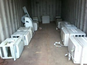 A/C Units (Commercial) & other office furniture: chairs, desk,