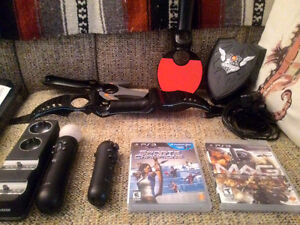 PS Move equipment + MAG and Sports Champions