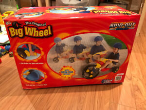 The original Big Wheel Spin Out Racer