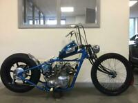 TRIUMPH HARLEY CHOPPER BOBBER, CLASSIC MOTORCYCLE (NOW SOLD) SIMILAR REQUIRED £