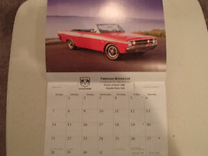New 2009 DODGE MUSCLE CARS CALENDAR                       x2 Sarnia Sarnia Area image 2