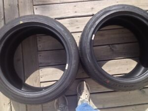 Two Good Year Eagle F1 Super car tires for sale