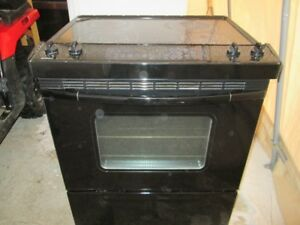 Great working Black flat top stove