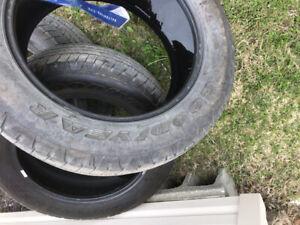 4 pneus Goodyear 275-55 R20