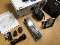 Philips cordless landline phone with Skype IP voip & answering machine (VOIP8551B)