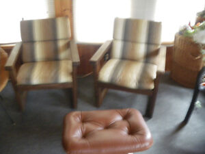 2 Chairs and Love Seat