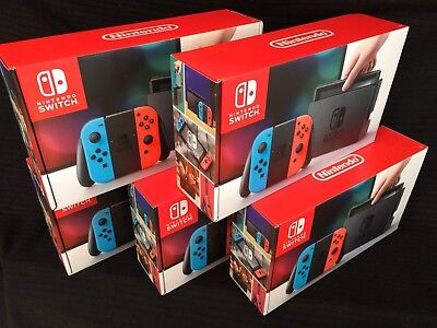 Nintendo Switch Console   Neon Red   Neon Blue   Ships Today   2 3 Day Priority