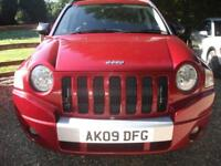 Jeep Compass Limited Crd 96K!+RAC WARRANTY+FULL LEATHER! DIESEL MANUAL 2009/09