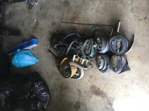 Load Straps and Bungi Cords