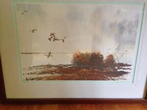 FRAMED PRINT BY JERRY A. NEWMAN