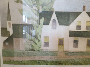 A LTD EDITION PRINT BY A. J. CASSON GROUP OF SEVEN VILLAGE HOUSE Kitchener / Waterloo Kitchener Area image 4