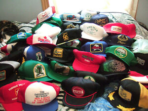 Truckers Vintage Hat Collection Collectable 300 Hats