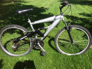18 Speed Dual suspension Mountain Bike