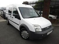 FORD TRANSIT CONNECT 1.8TDCI HIGH ROOF CREW VAN EURO IV T230 LWB EX POLICE