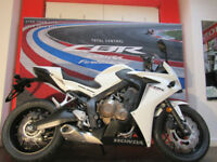 Honda CBR650 4.9% PCP FINANCE £77 PER MONTH FREE SEAT COWL