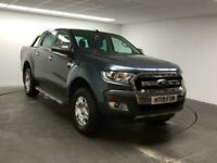 2019 Ford Ranger 4x4 D/Cab 2.2 Tdci Limited 160PS Auto Double Cab Pick Up Diesel