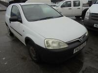 2003 Vauxhall Corsavan 1.7Di 16v ** 2 KEEPERS ** 2 KEYS ** PLY LINED **