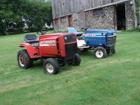 Jacobsen / Ford riding lawn mowers