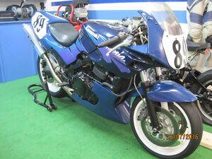 Kawasaki EX 500  (track day ou lightweight course)