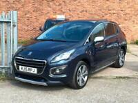 2015 Peugeot 3008 1.6 HDi Allure 5dr 25,000 Miles, 2 Owners, F/S/H HATCHBACK