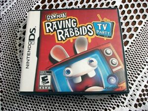 Raving Rabbids TV Party DS Game