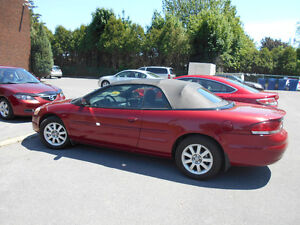2004 Chrysler Sebring GTC Convertible