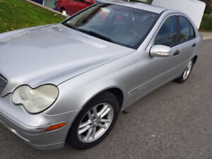 Mercedez-benz C230 Turbo 1.8L 2004
