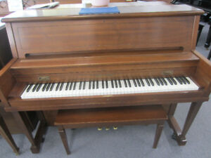 Three pianos for sale $2000 each incl warranty, del & tuning!